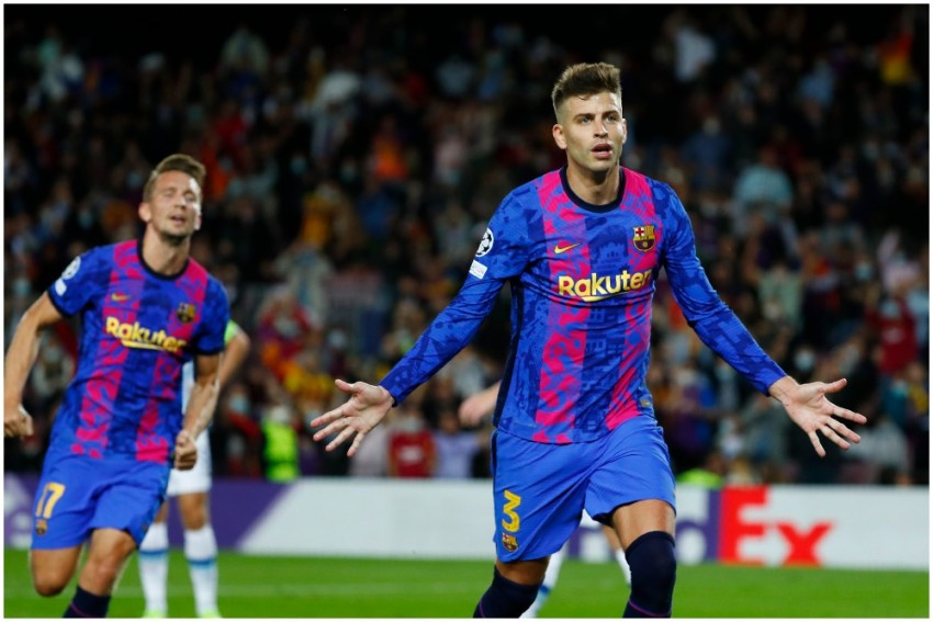 Champions League: Veteran Gerard Pique Saves Barcelona From Early Elimination