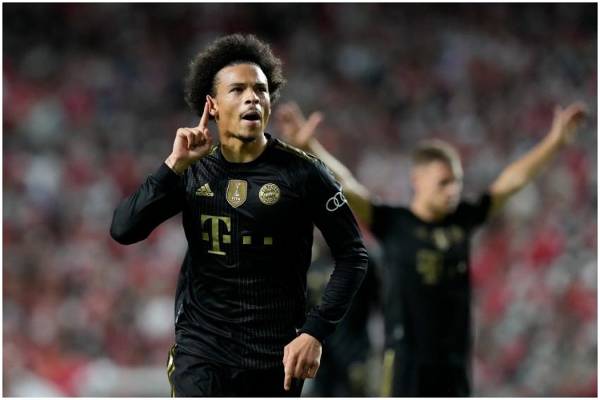 Champions League: Leroy Sane Scores Twice As Bayern Munich Thrash Benfica 4-0