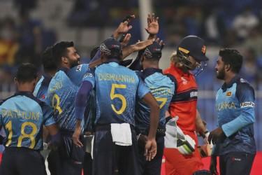 NED Vs SL, T20 World Cup: Sri Lanka Thrash Netherlands In Final First-round Match -   Highlights