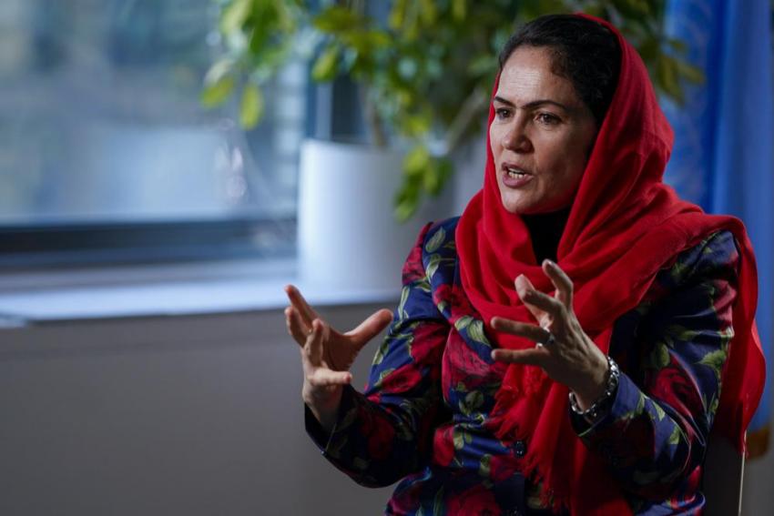 Female Afghan Leader Fawzia Koofi Keeps Striving For Afghanistan From Exile