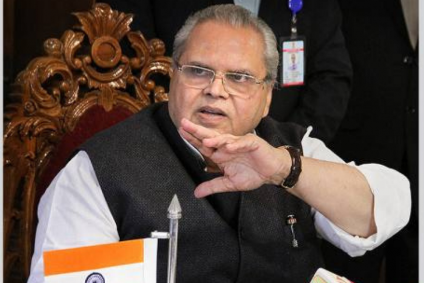 Ex-J&K Governor Satya Pal Malik's 'Recurring Accounts' Of Kashmir: 'Jab Main Wahan Tha...'
