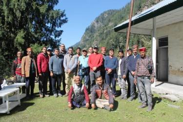 Himachal Bypolls: A 24-km Trek through Thick Forests, Mountains And Streams
