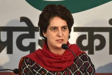 Congress: Priyanka Gandhi Flags Off Party's 'Pratigya Yatras' From UP's Barabanki