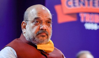 Kashmir: Amit Shah Meets Family Of Slain Cop, Reviews Security On First Visit Since Article 370 Abrogation