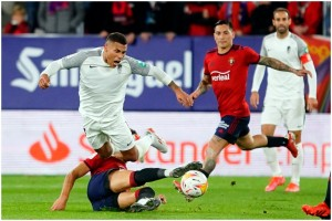 La Liga: Granada Substitute Angel Montoro Denies 10-Man Osasuna Top Spot