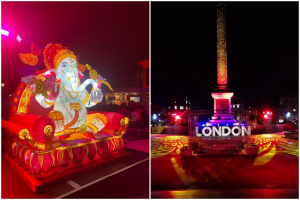 Diwali 2021: London's Trafalgar Square Decks Up As Indians Celebrate Festival Of Lights