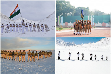 ITBP's 60th Raising Day: 20 Soldiers Get Gallantry Medals For Defending LAC Against China