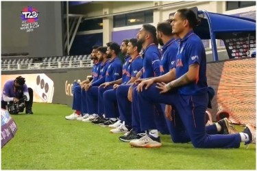 Black Live Matter: Players Take The Knee Ahead Of IND vs PAK T20 World Cup Tie