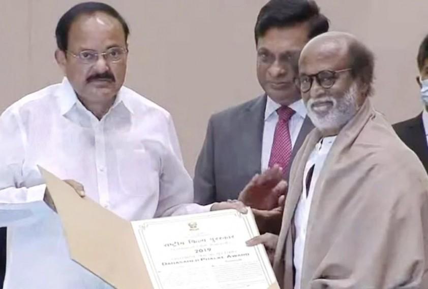 Rajinikanth Thanks Bus Driver Who Spotted His Acting Talent After Winning Dadasaheb Phalke Award