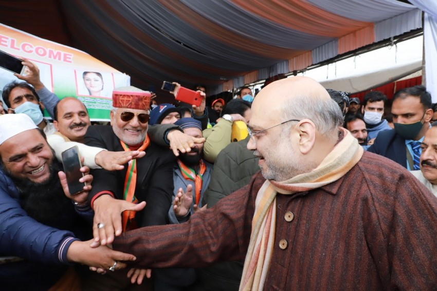 In Valley, Amit Shah Says No To Talks With Pakistan, Yes To Dialogue With J&K People