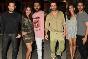 Aayush Sharma's Birthday Bash: Salman Khan, Riteish Deshmukh, Sunil Grover And Celebs Attend