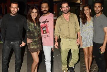 Salman Khan, Riteish Deshmukh, Sunil Grover And Other Celebs Attend Aayush Sharma's Birthday Bash