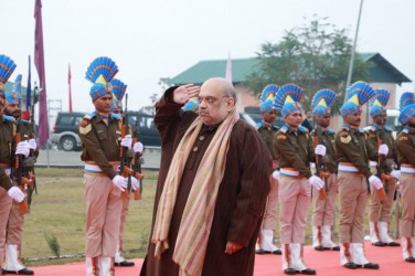 Amit Shah Pays Tribute To CRPF Jawans Martyred In 2019 Pulwama Attack In J&K
