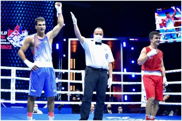 Men's Boxing World Championships: India's Akash Sangwan Storms Into Second Round
