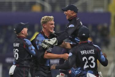 SCO Vs NAM, ICC T20 World Cup: Namibia Beat Scotland For First-ever Super 12 Win - Highlights