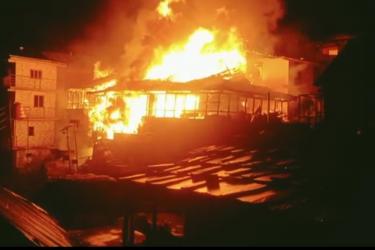 Himachal Pradesh: Massive Fire At Malana Village In Kullu Leaves Dozens Of Homes Reduced To Ash