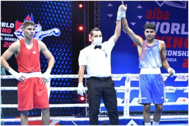 Men's Boxing World Championships: Indian Boxers Continue Unbeaten Run, Nishant Dev Enters 2nd Round