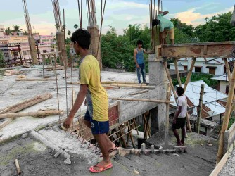 How School Dropouts Of Covid-19's First Wave Are Driving Construction Boom In Agartala