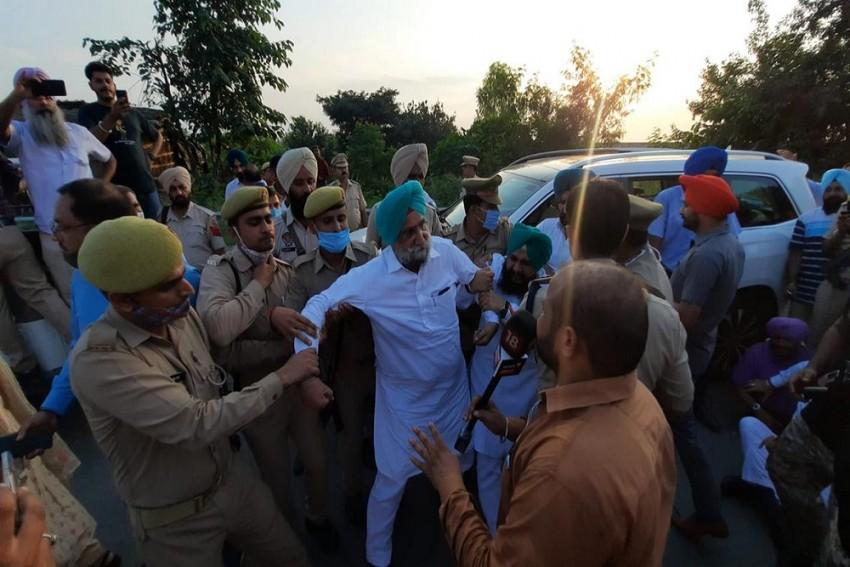Lakhimpur Kheri: Punjab Dy CM Randhawa And Seven MLAs Detained By UP Police