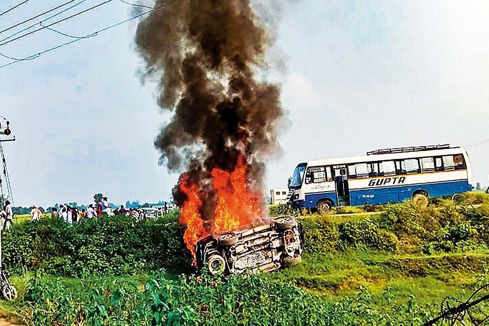 Lakhimpur Kheri Violence: Yogi Adityanath Government Fighting Fire In Uttar Pradesh