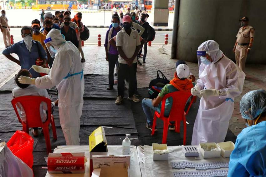 India Logs 21,257 Fresh Covid-19 Cases; Active Cases Lowest In 205 Days