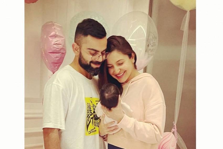Virat Kohli, Anushka Sharma Reveal Daughter's Name, Share Baby's First Photo