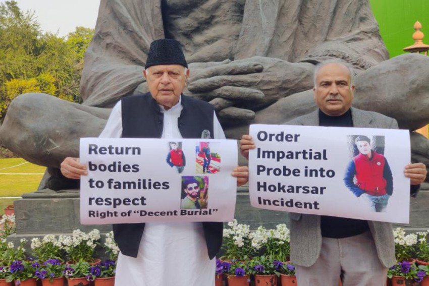NC MPs Demand Bodies Of 3 Youngsters Killed In Kashmir Encounter