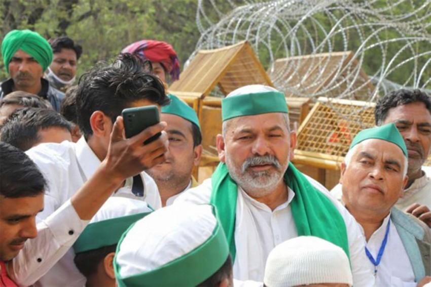 Farmers' Agitation Not Political, We Demand Solution To Crisis Not Change Of Power: Rakesh Tikait