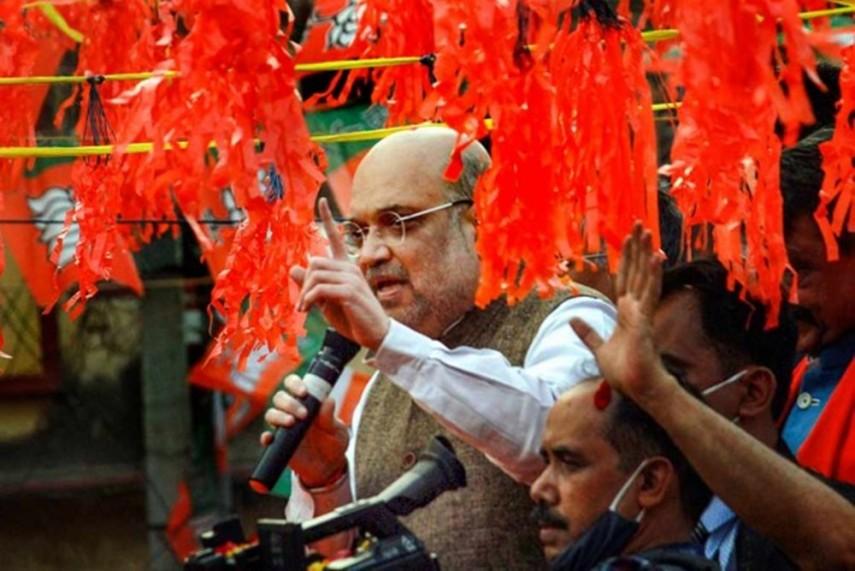 Image result for amit shah at thakurnagar