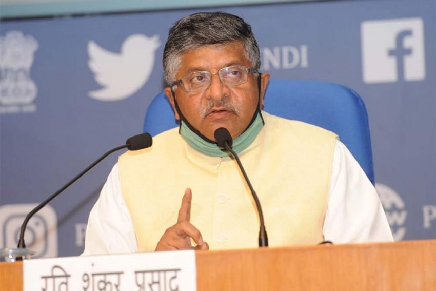 Ravi Shankar Prasad Warns Social Media Platforms Of Strict Action Against Non-Compliance Of India's Law