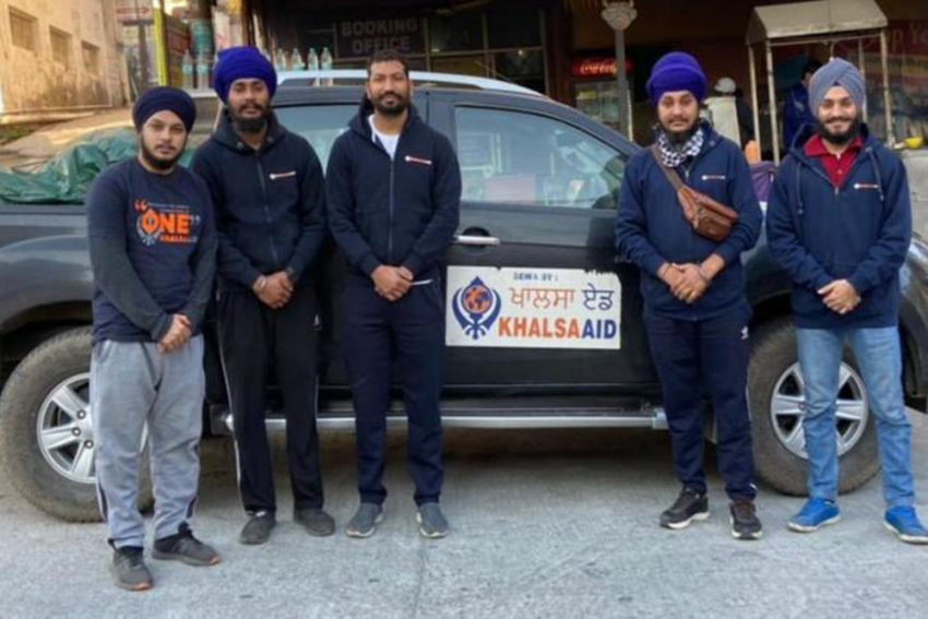 In The Midst Of Terror Probe, Khalsa Aid Sends Volunteers To Uttarakhand For Relief Work