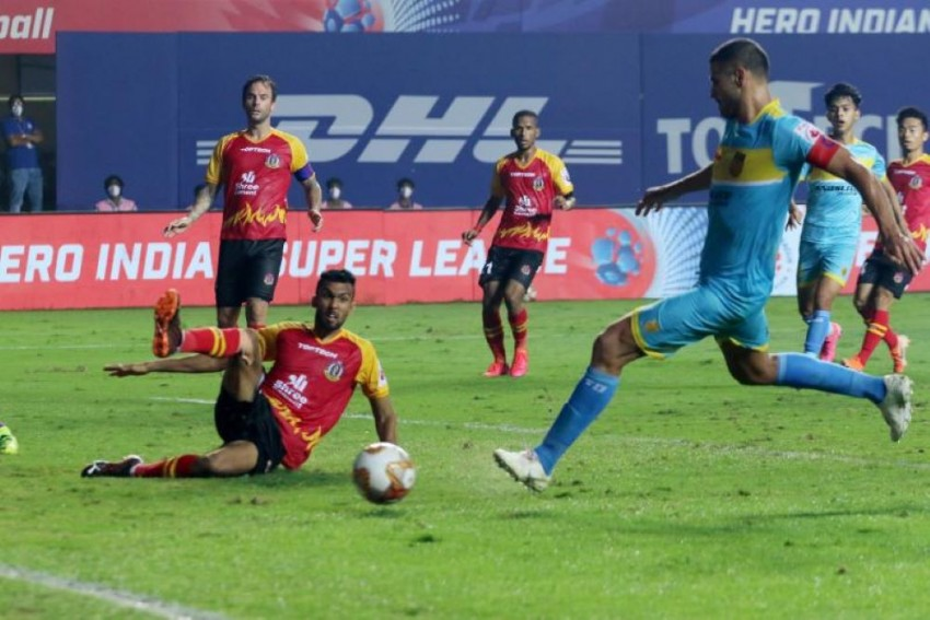 ISL 2020-21: Late Goal Helps Hyderabad FC Hold SC East Bengal To 1-1 Draw