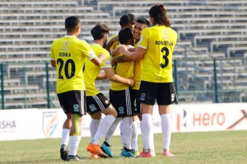 I-League: Unbeaten Real Kashmir Seek Win Against NEROCA To Move Ahead