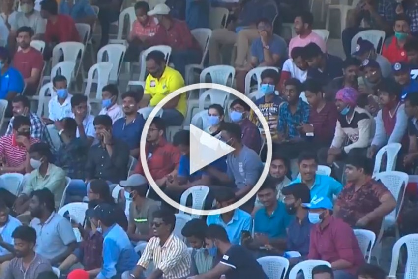 IND Vs ENG, 2nd Test: Epic Scenes In Chennai As Fans Return For India And England Clash - WATCH