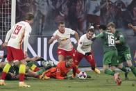 Bundesliga: Leipzig Warm Up For Liverpool Clash By Beating Augsburg 2-1