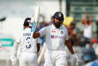 IND Vs ENG, 2nd Test: Rohit Sharma Sweeps On Chepauk Turner As India Score 300/6 On Day 1 - Report