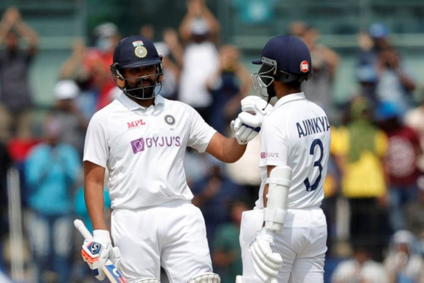IND Vs ENG: Ajinkya Rahane Hails Rohit Sharma's Positive Intent After India Take Hold Against England