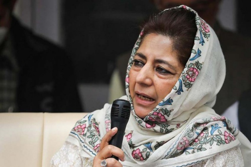 Mehbooba Claims Of Being Placed Under House Arrest Ahead Of Her Visit To Athar Mushtaq's Family