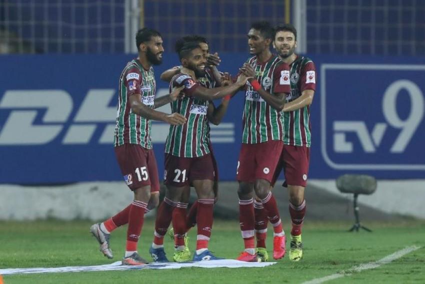 ISL: Roy Krishna Scores Late Goal To Help ATK Mohun Bagan Reclaim Top Spot