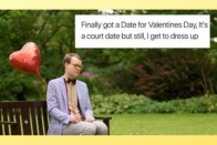 On Valentine's Day, Singles Share Hilarious Memes