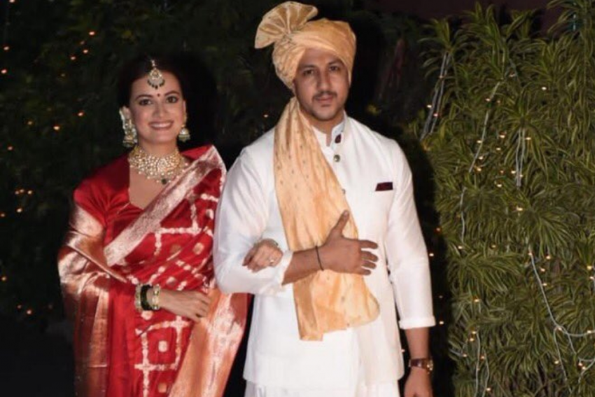 Dia Mirza Ties Knot With Vaibhav Rekhi; See Pictures