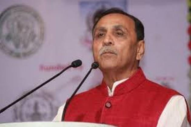 Watch: Gujarat CM Vijay Rupani Faints On Stage During Speech In Vadodara, Flown To Ahmedabad