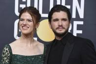 'Game Of Thrones' Actors Kit Harington And Rose Leslie Become Parents To A Baby Boy