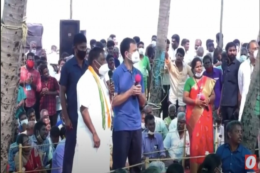 Watch| Lost In Translation: Puducherry CM Conveys The Opposite Meaning To Rahul Gandhi