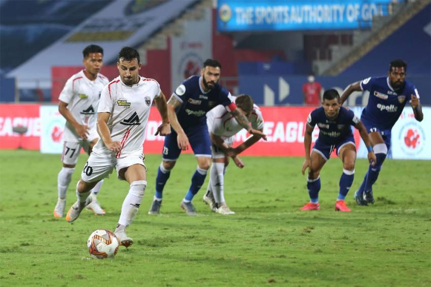 ISL 2020-21: NorthEast United Score Late To Hold Chennaiyin FC 3-3