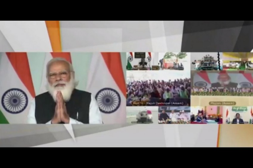 Correcting Historical Mistake Of Neglecting Assam: PM Modi After Launching Key Projects
