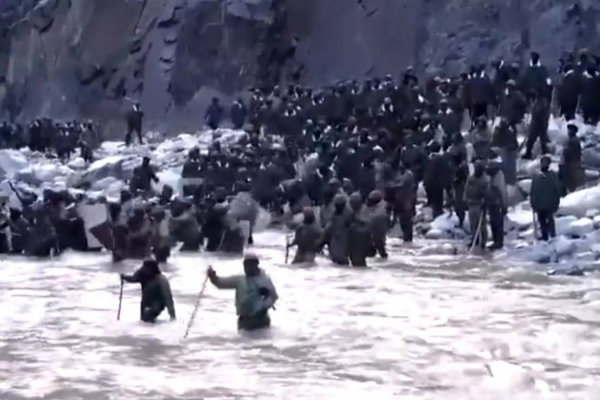 Watch: India-China Faceoff In Ladakh's Galwan Valley