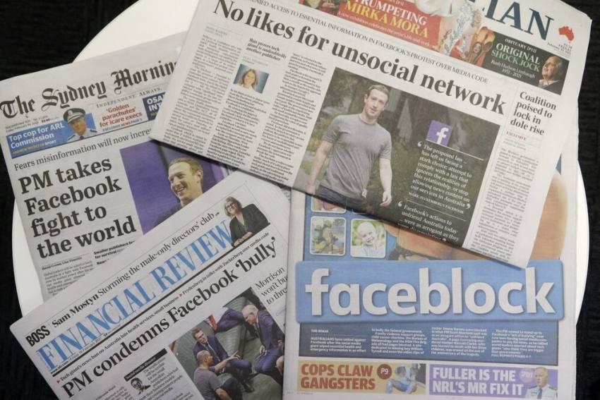 Australia PM Scott Morrison Urges Facebook To Lift Blockade On News, Calls It 'Threat'