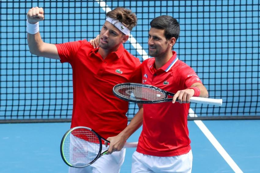 Rafael Nadal Sidelined, Team Novak Djokovic Wins To Open ATP Cup Defense