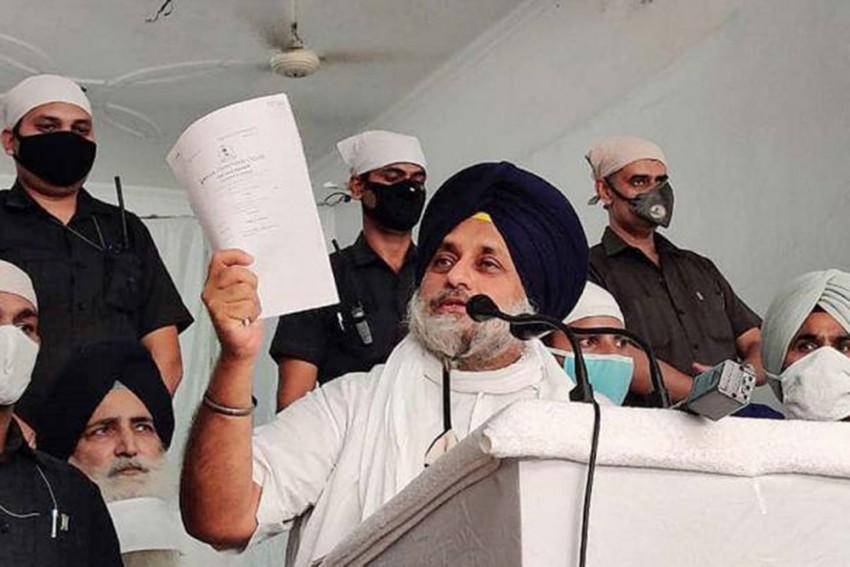 Sukhbir Singh Badal Attacked By Congress Workers In Punjab: Shiromani Akali Dal